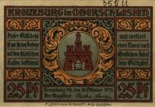 Kluczbork : [awers:] Kreuzburg in Oberschlesien [rewers:] 25 Pf 97 für Deutschland Land