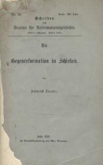 Die Gegenreformation in Schlesien