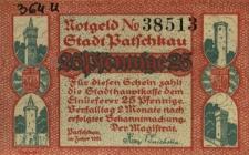 Paczków : [awers:] Notgeld N 38513 Städt Patschkau. 25 Pf [rewers:] Katholische Pfarrkirche
