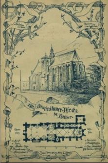 Die ehemalige Dominikaner Kirche, jetzt Kuratial Kirche zu Ratibor, baulich und geschichtlich geschildert von ...