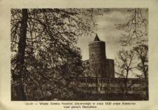 Opole - Wieża Zamku Piastów, zburzonego w roku 1930 przez Niemców oraz gmach Starostwa
