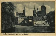 Wrocław : widok m.in. na Kościół Świętego Krzyża