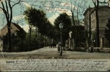Opole : fragment dzisiejszej ulicy Powstańców Śląskich