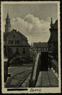 Opole : widok na ulicę Zamkową