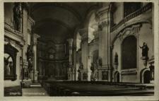 Legnica : wnętrze kościoła pw. Św. Jana