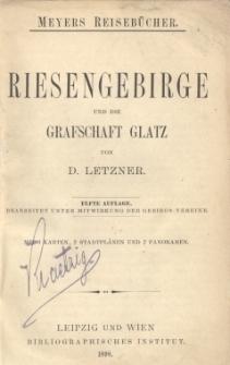 Riesengebirge und die Grafschaft Glatz