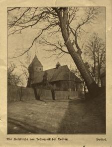 Wodzisław Śląski : kościół drewniany w Jedłowniku