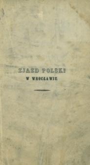 Zjazd Polski w Wrocławiu na dniu 5 go Maja 1848 roku : (Ustęp historyczny z pamiętników Hilarego Meciszewskiego)
