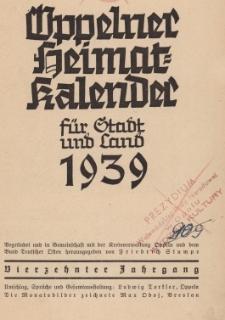Oppelner Heimat für Stadt und Land, 1939