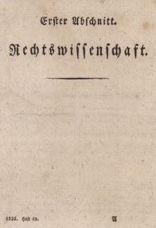 Jahrbücher für die Preussische Gesetzgebung, Rechtswissenschaf und Rechtsverwaltung Bd. 25.