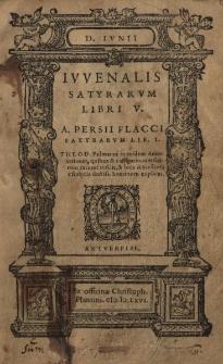 Satyrarum Libri V