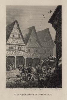 Schlesien. Eine Schilderung des Schlesierlandes: Fachwerkgebäude in Bolkenhain