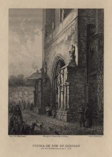 Schlesien. Eine Schilderung des Schlesierlandes: Portal am Dom zu Breslau