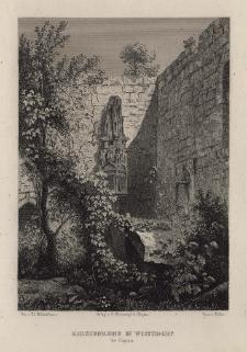 Schlesien. Eine Schilderung des Schlesierlandes: Kirchenruine in Woitsdorf