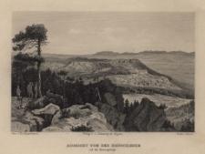 Schlesien. Eine Schilderung des Schlesierlandes: Aussicht von der Heuscheuer auf das Riesengebirge