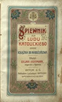 Śpiewnik dla ludu katolickiego oraz książka do nabożeństwa
