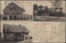 Suchy Bór : Sklep kolonialny Rybora, villa Hoppa oraz leśniczówka