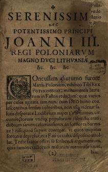 Annalium Poloniae ab obitu Vladislai IV