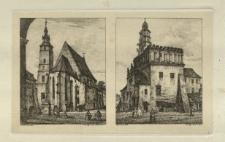 Kościół Bożego Ciała i ratusz na Kazimierzu
