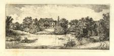 Dom i część ogrodu w Medyce