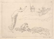 Tetyda wzywa Ajgajona przeciw zbuntowanym bogom