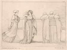 Afrodyta wprowadza Helenę do pałacu Priama