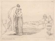 Afrodyta prowadzi Helenę do Parysa