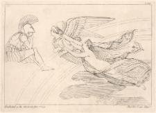 Iryda prowadzi zranioną Afrodytę do Aresa