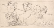 Diomedes walczy z Aresem