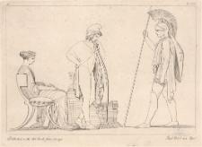 Hektor gani bezczynność Parysa i nakłania brata do podjęcia walki z Grekami