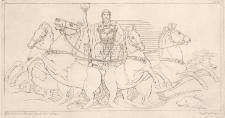 Posejdon jedzie w stronę greckich okrętów