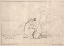Tetyda i Eurynome pielęgnują małego Hefajstosa po strąceniu go z Olimpu