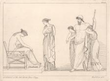 Tetyda prosi Hefajstosa o nową tarczę dla Achillesa