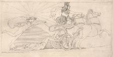 Achilles ciągnie zwłoki Hektora