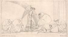 Iris, na polecenie Zeusa, nakazuje Priamowi, aby wykupił zwłoki Hektora