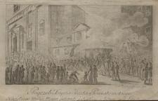 Pogrzeb Xięcia Józefa Poniatowskiego Naczelnego Wodza Woysk Polskich poległego w bitwie pod Lipskiem