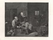 La Boutique de barbier / The Barber's Room / Die Barbierstube / U cyrulika
