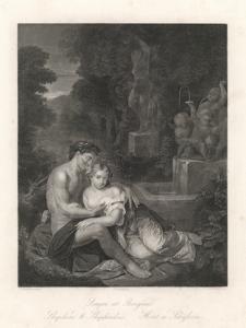 Berger et Bergère / The shepherd and the shepherdess / Der Hirt und die Schäferin / Pasterz i pasterka