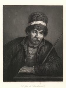 Le Pere de Rembrantd / Rembrandt's Father / Rembrandt's Vater / Ojciec Rembrandta