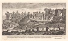 Vestigij et parte del monte Palatino …il Circo Maximo…et monte Aventino