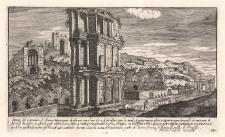 Vestigij del settizonio di Seuero Imperatore…sepolcro…sopra la strada Appia