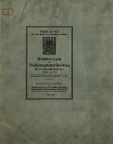 Erläuterungen zum Reichsmanteltarifvertrag für die Gemeindearbeiter RMT G 1926