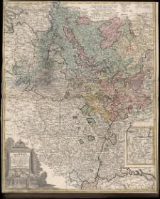 Der Rhein, die Maass und Mosel mit den anligendem Ländern des Ober-Chur - und Nieder - Rheinl. wie auch des Burgundischen Kreises ingl. Elsass und Lothringen etc. durch F.L.Güssefeld
