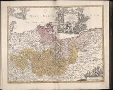 Tabula Marchionatus Brandenburgici Et Pomeraniae quae sunt Pars Septentrionalis Circuli Saxoniae Superioris novissime edita A Ioh. Baptista Homanno