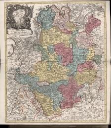 Nova et Exacta Mappa Geographica exhibens Circulum Westphalicum in omnes suas Status et Provincias accurate divisum, Cura et sumptibus Tobiae Lotter Chalcographi.