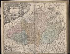 Tabula Generalis Marchionatus Moraviae In Sex Circulos Divisae Quos Mandato Caesareo accurate emensus hac mappa delineatos exhibet Ioh. Christoph Müller S.C.M.Capitan