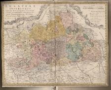 Lusatiae Inferioris Tabula chorographica, secundum statum recentissimum delineata et edita curis Homannianorum Heredum
