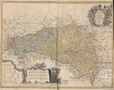 Lubomeriae Et Galiciae Regni Tabula Geographica