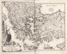 Carta nuova geografica del teatro maritimo della guerra presente tra la russia e la porta ottomana tratta da una recente Pubblicata a Parigi