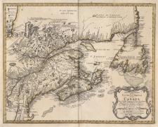 Partie Orientale de la Nouvelle France ou du Canada Par Mr.Bellin Ingenieur du Roy et de la Marine Pour seruir a l'Intelligence des affaires et de l'Etat present en Amerique communiquee au Public par les Heritiers de Homan en l'an 1755